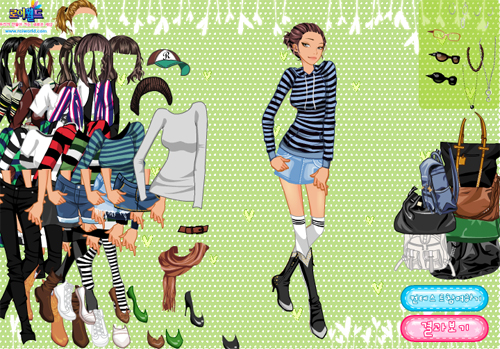 одевалки аниме девушек: