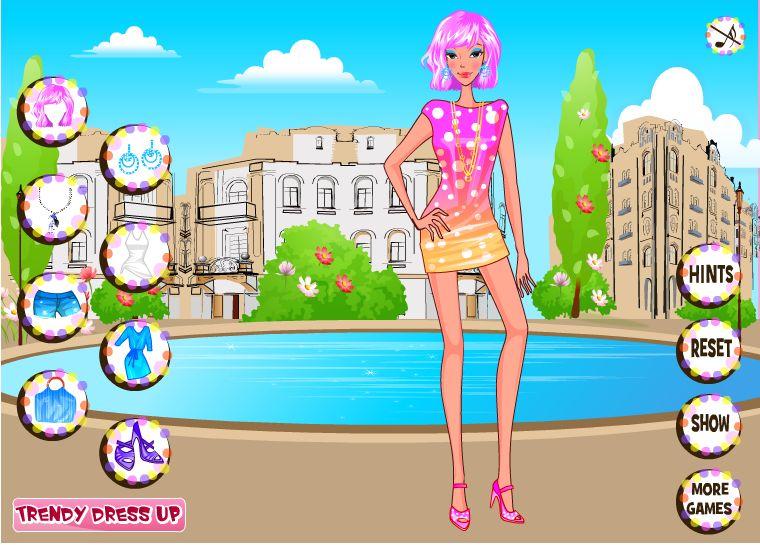Одевалки. Игры для девочек Одевалки бесплатно.