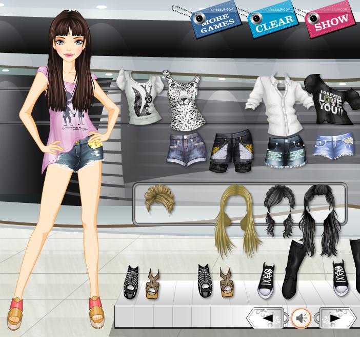 Игры для модное одевания