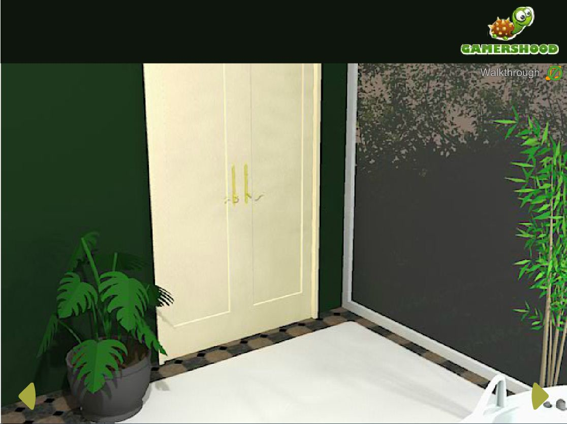 Green Bathroom Escape