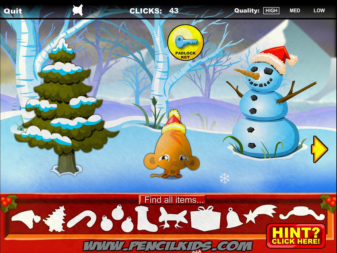 Игра Monkey Go Happy Christmas
