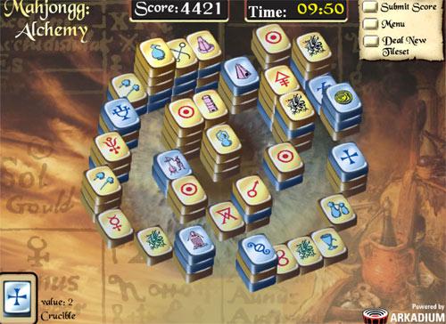 mahjongg alchemie