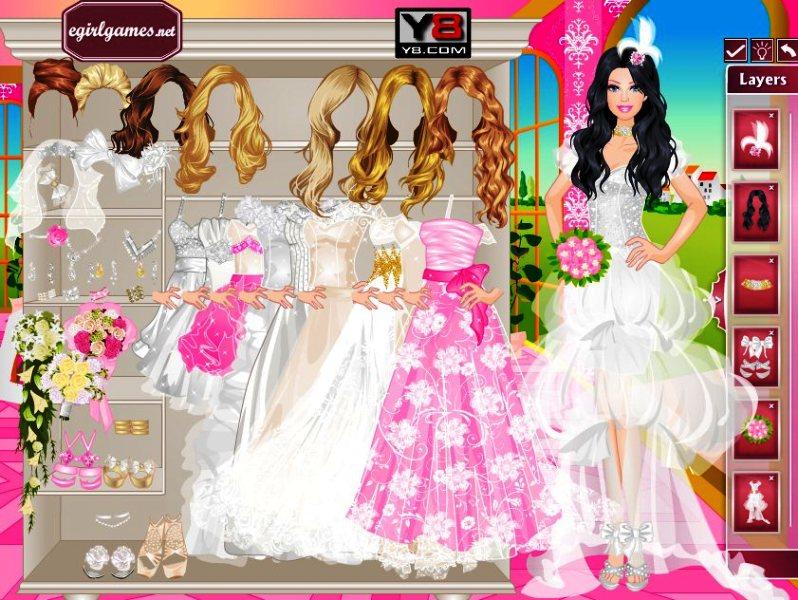 Игры одевалки барби свадьба дорогих