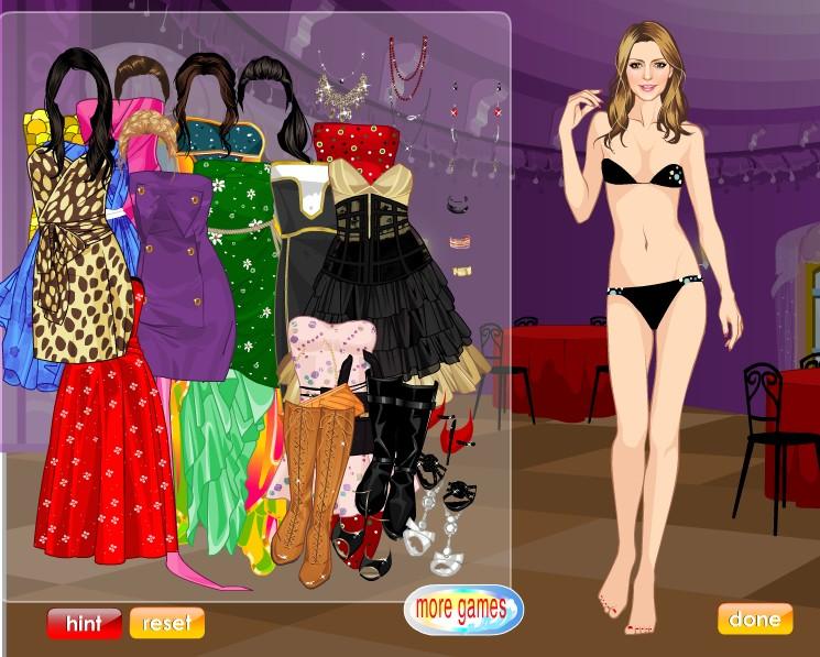 Игры одевалки модная девушка