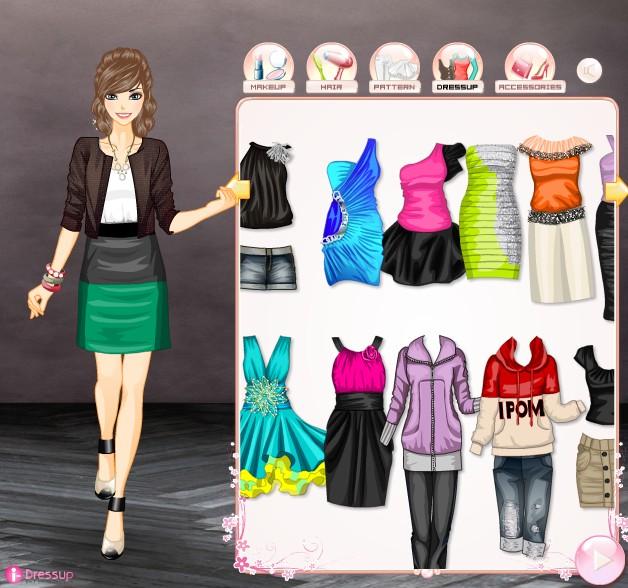 Модные одевалки для девушек 2017