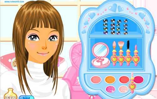 Играть в игры для девочек одевалки макияж прически и маникюр