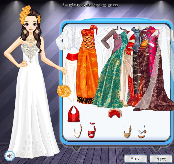 Игры для девочек шей платья
