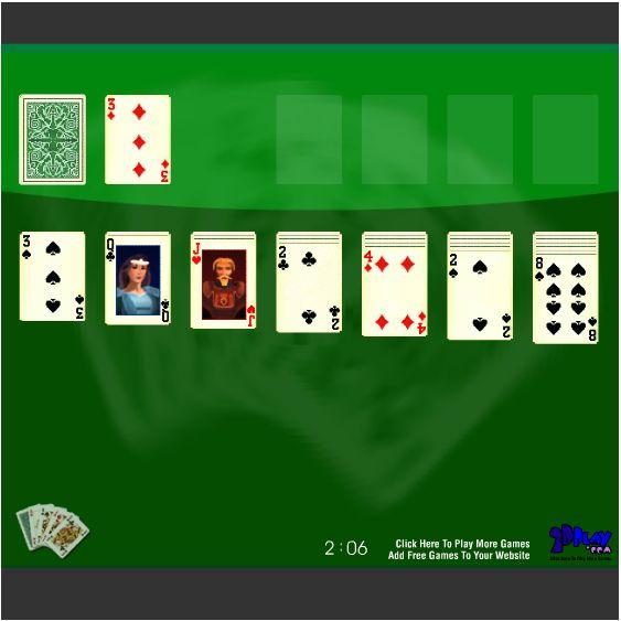 Игра карты косынка паук коврик - e4