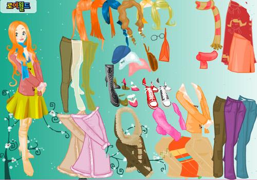 аниме игры одевалки девушек: