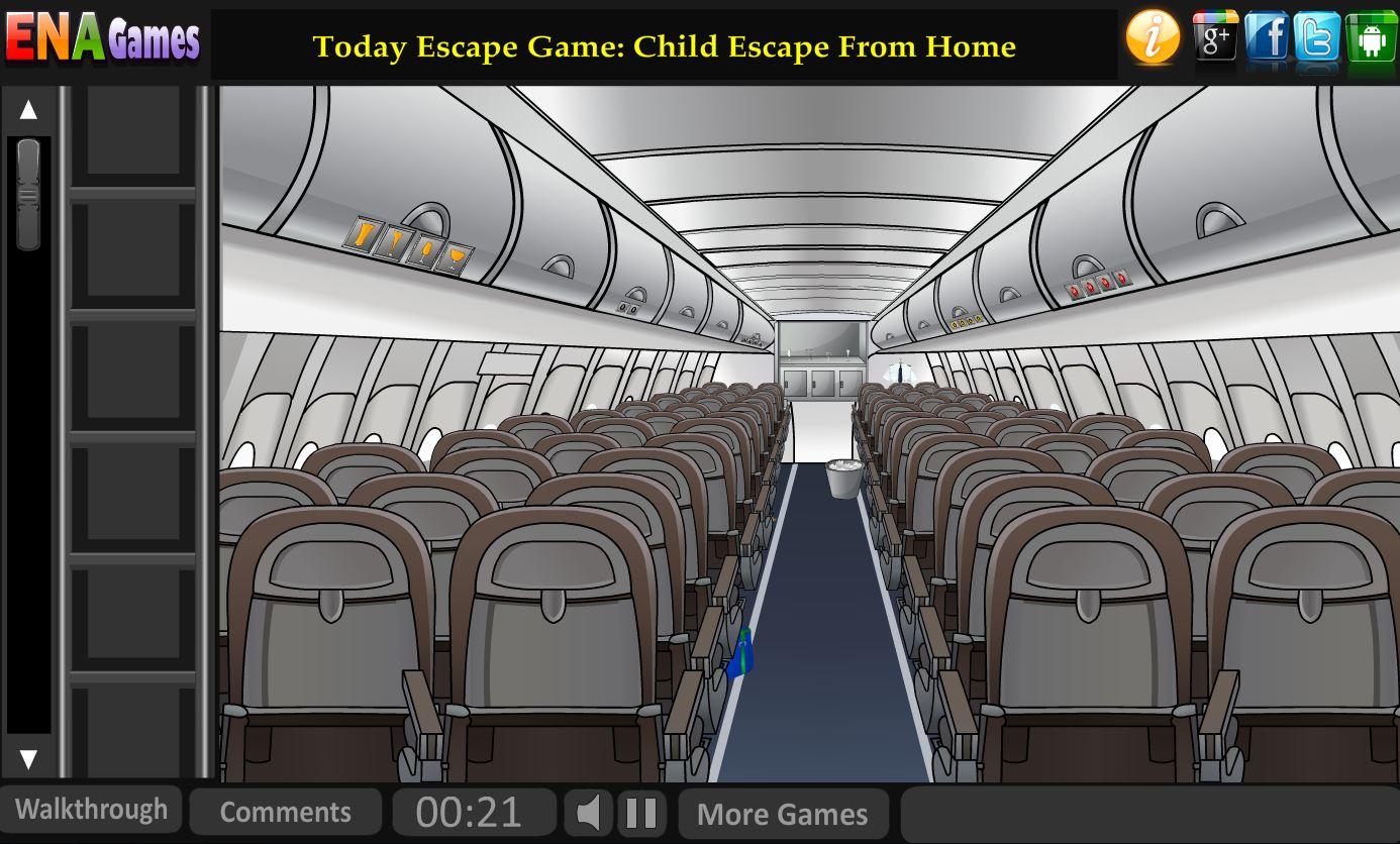 Escape the airplane game