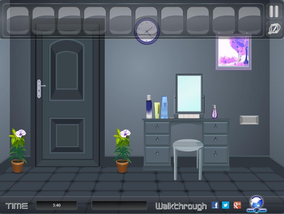 Flash small bed room escape for Small room escape 9 walkthrough