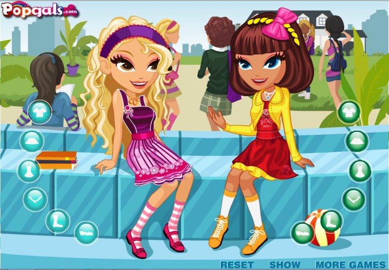Игры подруги одевалки модные