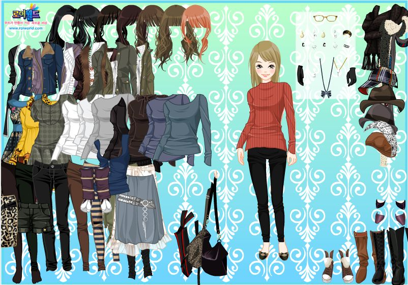 Модные переодевалки для девочек