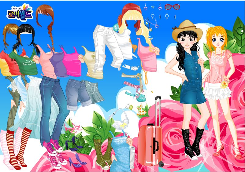 Одевалки Игры на одевание для девочек и девушек на Stepanida ru