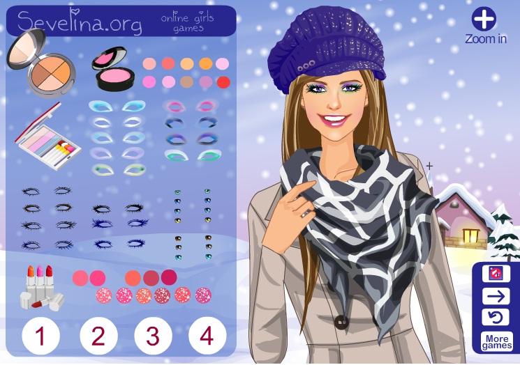 Игры для девочек новый макияж