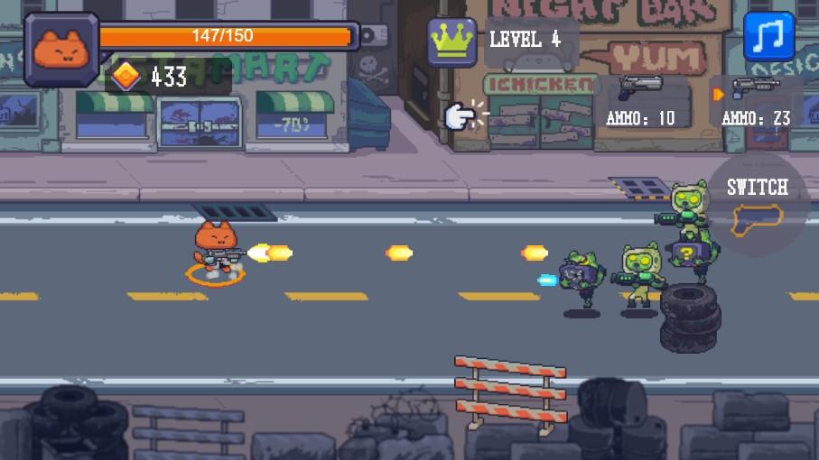играть онлайн коты зомби
