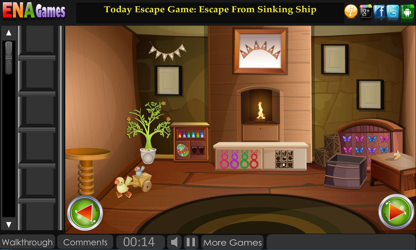 подсказки на игру escape fear house