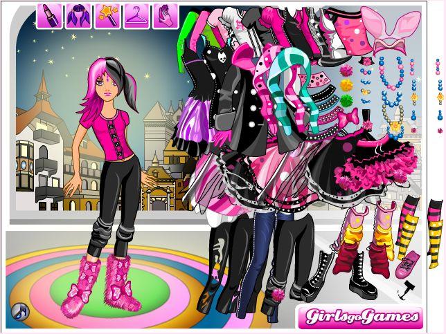 Одевалки - онлайн игры для девочек.