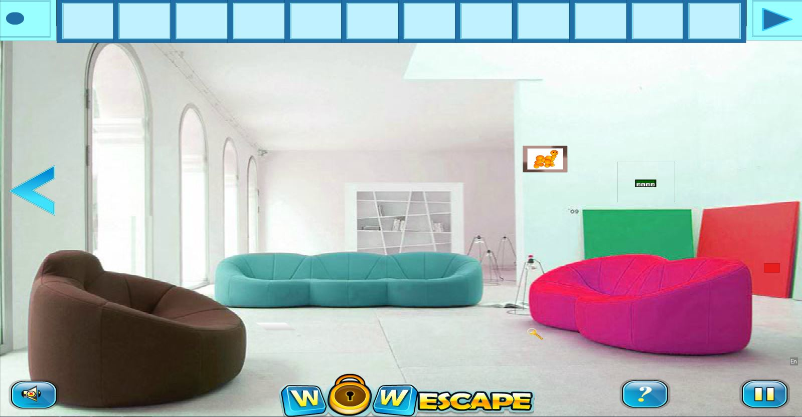 modern escape You are trapped in an modern city house you have to escape from this house by using objects, and clues use your brainpower and get away from the house have fun.