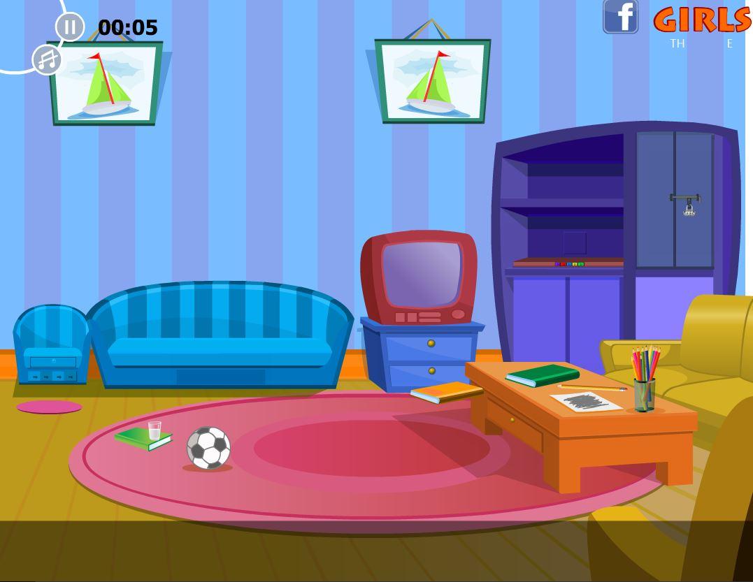Flash Cartoon Room Escape