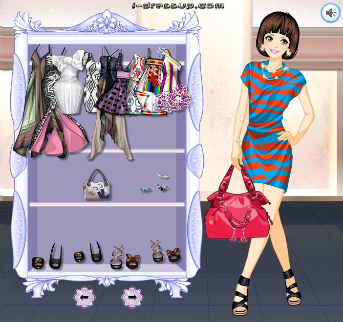 Бесплатные одевалки - модные игры для девочек.