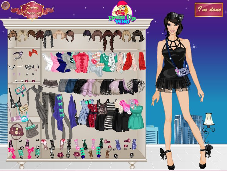 Игры самые модные одевалки для модных девочек