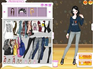 Jeans Pitch Dress Up Game