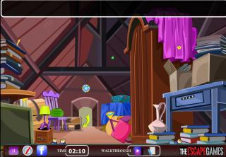Игра Old Dirty Attic Home Escape