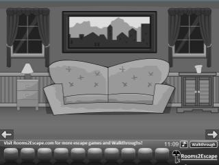 Grayscale Living Room