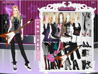 Avril Lavigne Dress Up