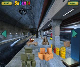 Игра Can You Escape Submarine Dock