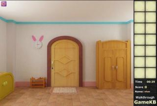 Cute Bunny Baby Room Escape