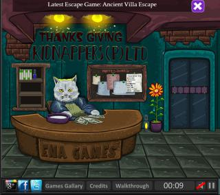 Игра Enas Thanksgiving Escape фото