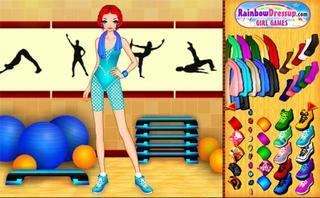 Aerobic Instructor Dress Up