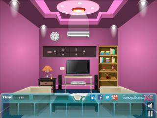 Игра Escape from Pink Reception Room