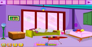 Игра Chicks Living Room Escape