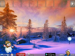 Игра Snowman At Christmas Dawn Missing