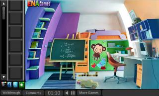 Игра Escape From Baby House