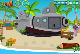Игра Escape The Beach
