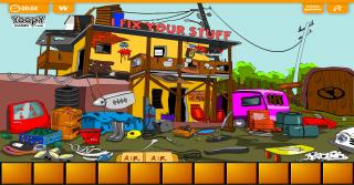 Игра Escape From Scrap Yard
