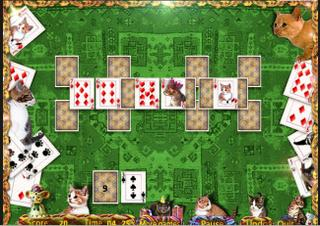 Игра Cats Solitaire фото