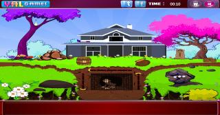 Игра Garden Monkey Escape
