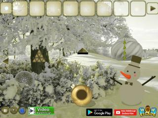 Игра Christmas Ornament Forest Escape