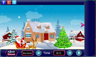 Игра Find Santas Gift Escape
