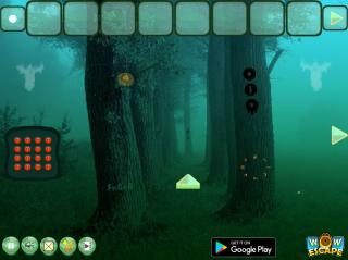 Игра Escape From Ghost Forest