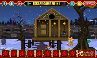 Игра Christmas World Escape фото