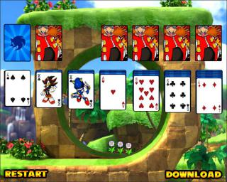 Sonic Solitaire Game