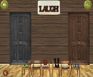Игра Escape From Wood House