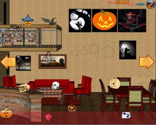 Ruby Room Escape Halloween