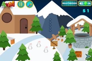 Игра Christmas Deer Boy Escape
